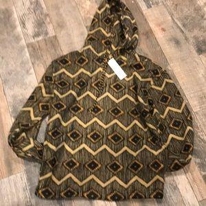 UO unisex diamond pattern  fleece hoodie